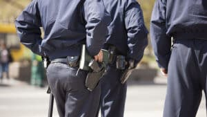 armed security guards on patrol