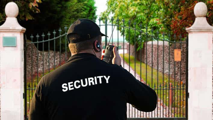 private residence executive security guard